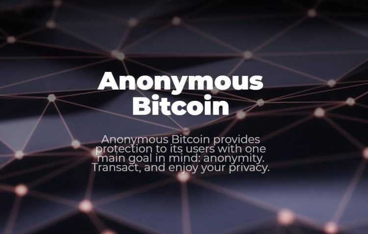Kas ir Anonymousbitcoin