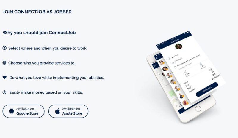 ConnectJob platformā tiek veikti CJT tokenos