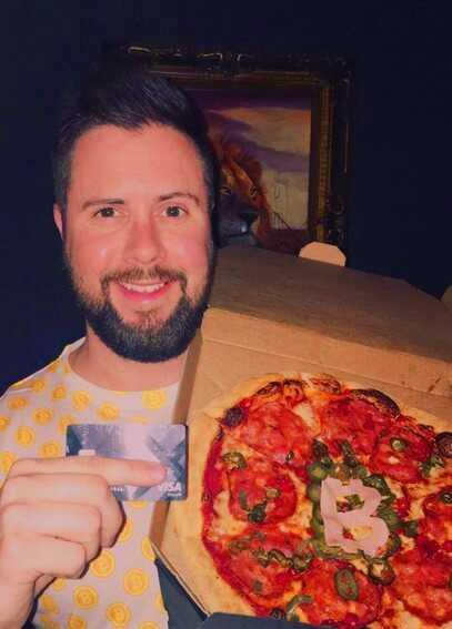 Programmētājs, kurš par bitkoiniem nopirka picu