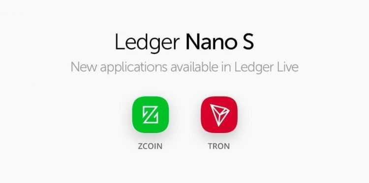 Aparatūras maku Ledger Nano S lietotāji turpmāk varēs pārvaldīt un Zcoin (XZC) monētas savos Ledger Live.