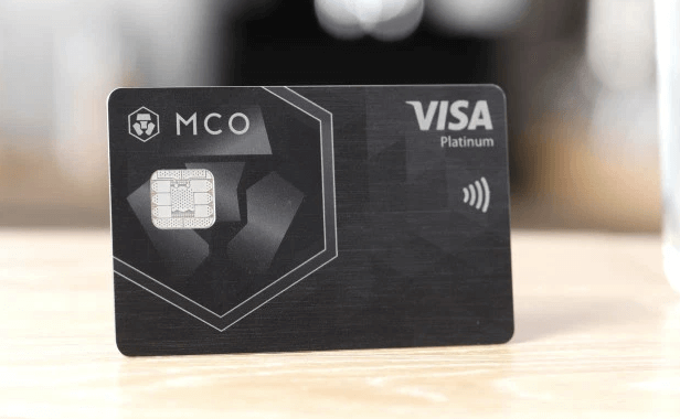kriptovalūtu karti MCO Visa