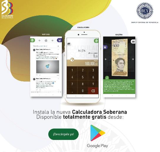 Venecuēlas CB laidusi klajā lietojumprogrammu vecās valūtas maiņai pret El Petro