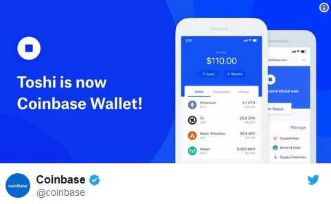 Jauns Coinbase Wallets