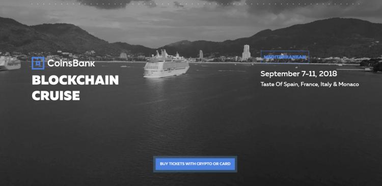 Blockchain Cruise Europe notiks 7.-11. septembrī
