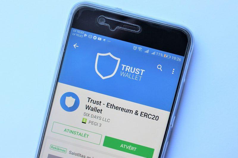 Birža Binance paziņojusi par kripto maku Trust Wallet