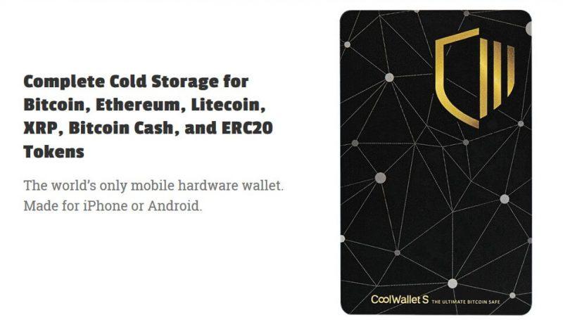 CoolWallet S projekta komanda ir izstrādājusi vislietderīgāko bitkoinu maku