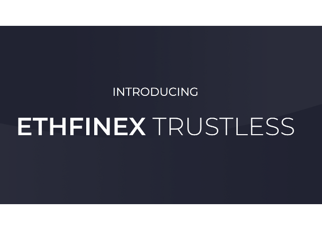Kriptovalūtu birža Bitfinex aktivizējusi decentralizēto tirdzniecības platformu Ethfinex Trustless