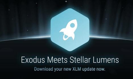 Kriptovalūtu maks Exodus pievienojis oficiālu Stellar atbalstu
