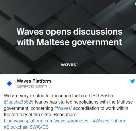 Platforma Waves Maltā