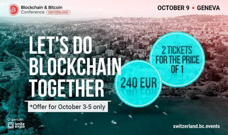 Blockchain & Bitcoin konferenci Šveicē