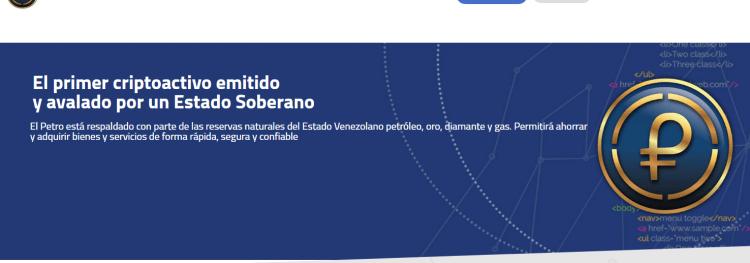 Venecuēlas prezidents Nikolass Maduro nacionālajā radio un televīzijā sniedzis vairākus paziņojumus par kriptovalūtu Petro