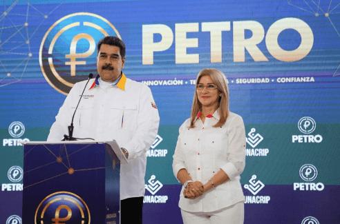 Venecuēlas Petro varēs tirgot tikai investori, kuri to nopirkuši 2018.g.