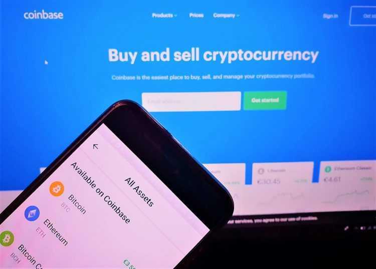 Birža Coinbase apstiprināja 5 mljrd. ASV $ pārskaitījumu kriptovalūtā