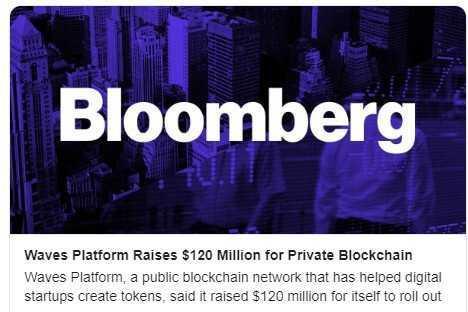 Platforma Waves piesaistījusi 120 milj. $ privātā blockchain Vostok izstrādei