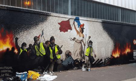 Parīzes sienas gleznojuma 0,26 bitkoina vērtā mīkla atminēta