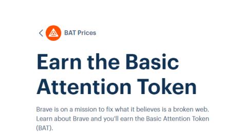 Coinbase zinātkārie lietotāji varēs nopelnīt tokenus BAT