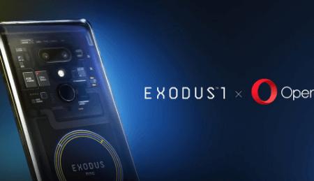 HTC sāk tirgot blockchain viedtālruni EXODUS 1 par fiat