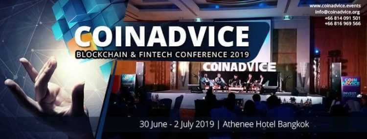 Coinadvice Blockchain & Fintech konference