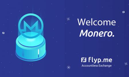 Flyp.me implements Monero's sub-addresses