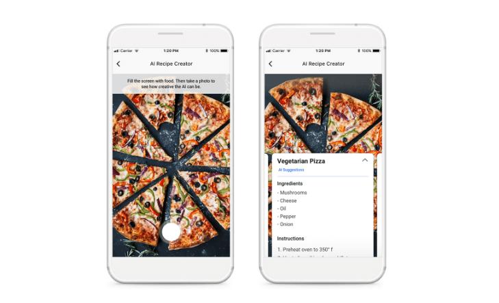 Facebook iemācījis mākslīgajam intelektam radīt recepti pēc ēdiena fotoattēla