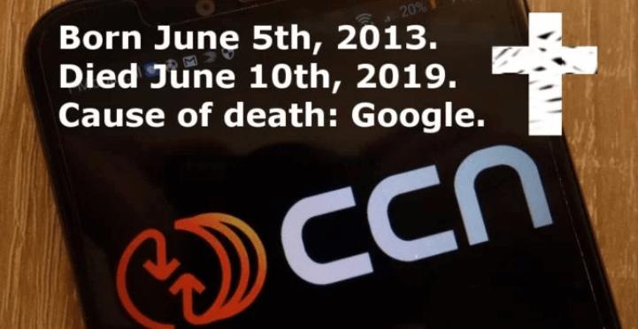 Ziņu portāls CCN paziņojis par savu slēgšanu