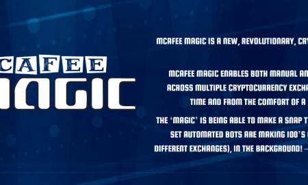 Džons Makafi aktivizējis jaunu kripto biržu McAfeeMagic
