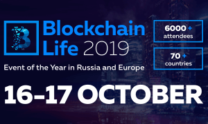 Blockchain Life 2019 16.-17. oktobris
