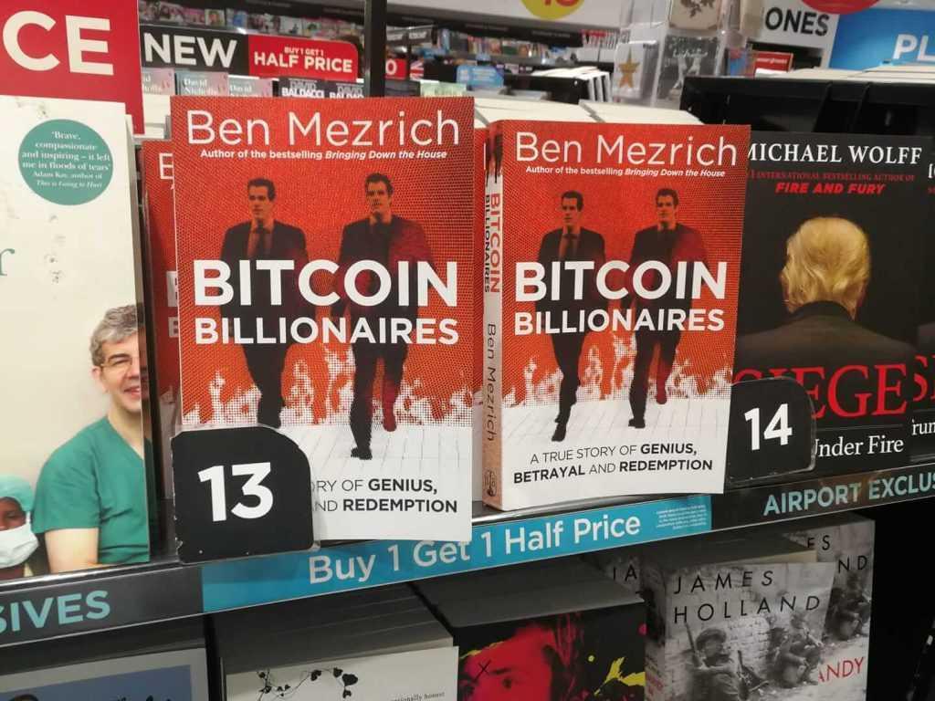 """Grāmata """"Bitkoinu miljardieri"""" (Bitcoin Billionaires)"""