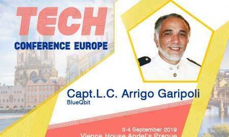 BlueQbit dibinātājs Arrigo GARIPOLI uzstāsies PICANTE TECH EUROPE 2019 konferencē