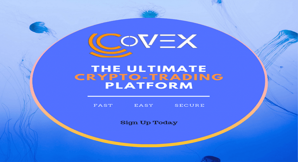 CoVEX - A Single Platform to Complete the Entire Crypto Lifecycle