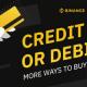 Binance pievienojusi vēl vienu maksājumu kanālu ar banku kartēm kriptovalūtu iegādei