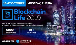 """2019. gada 16. -17. oktobrī kompānijas """"Microsoft"""", """"Huawei"""" un Venecuēlas valdība piedalīsies konferencē """"Blockchain Life"""""""