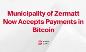 Šveices pilsētiņa Cermata nodokļu samaksai tagad pieņem bitkoinu