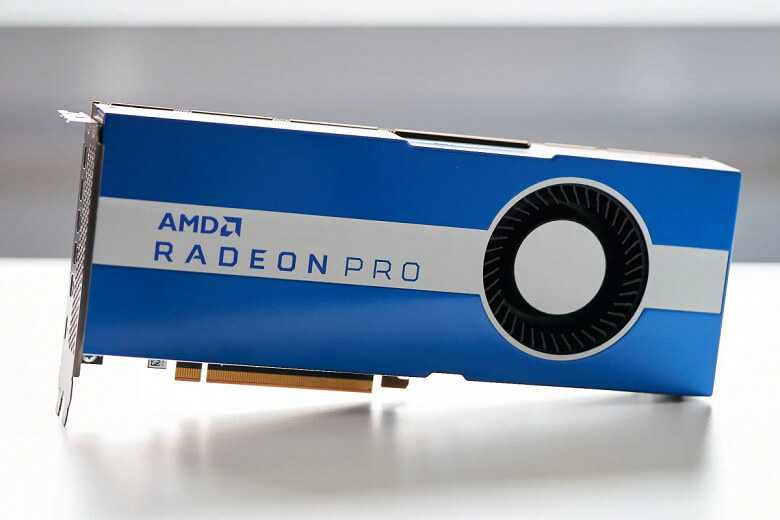 Jaunā AMD videokarte Radeon Pro W5700