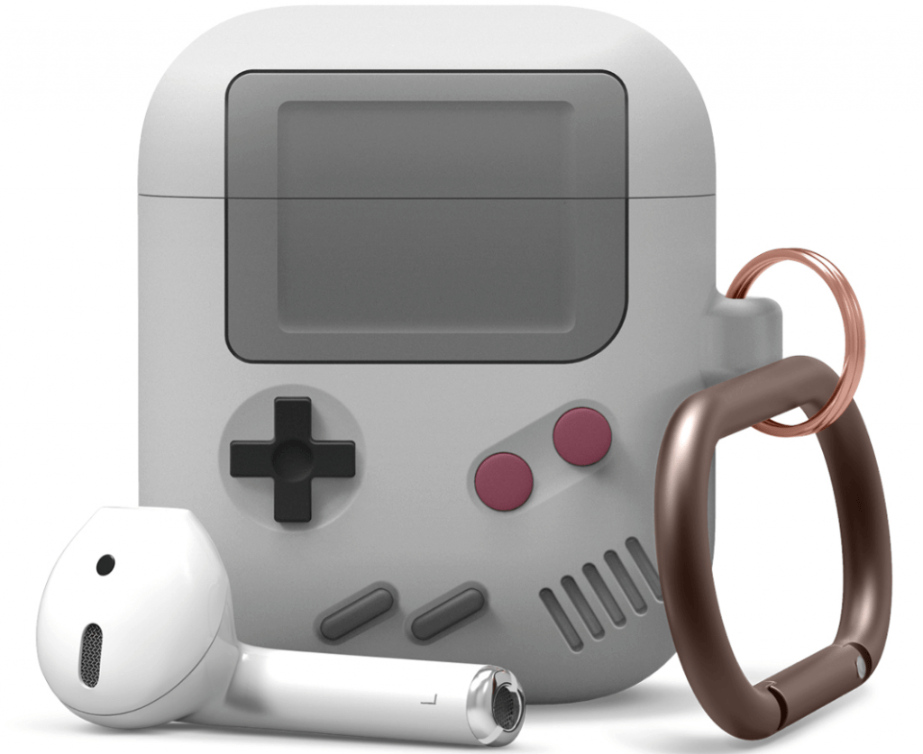 AirPods čeholi Game Boy formā