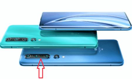 galvenā vizuālā atšķirība starp Xiaomi Mi 10 un Xiaomi Mi 10 Pro