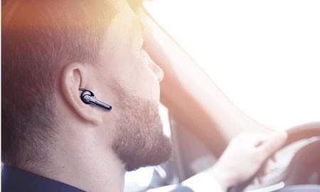 Baseus NGCX: 13 ASV dolāru Bluetooth austiņa autobraucējiem ar bezvadu USB uzlādi