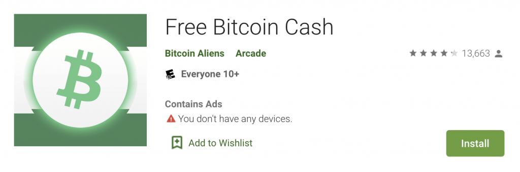 Bitcoin Cash adrešu aktivitāte