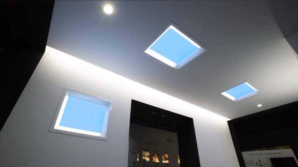 Mitsubishi ievieš apgaismojumu, kas atgādina zilas debesis