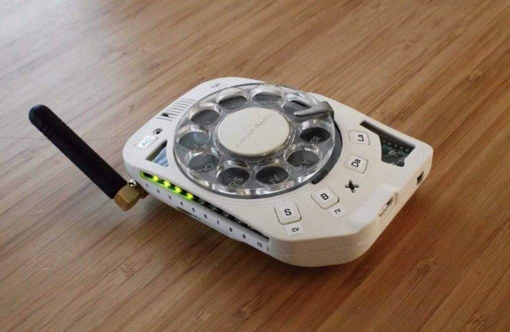 Telefons ar ripu