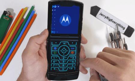 Cik izturīgs ir jaunākais Motorola Razr telefons? (Video)