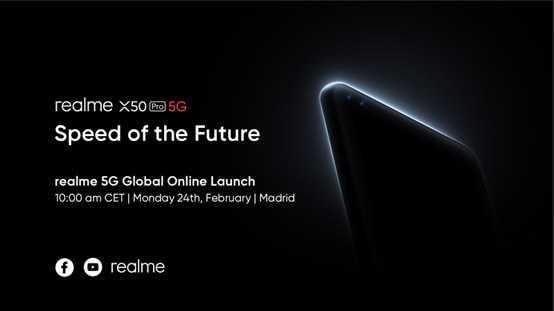 Jaunas G5 Realme X50 Pro