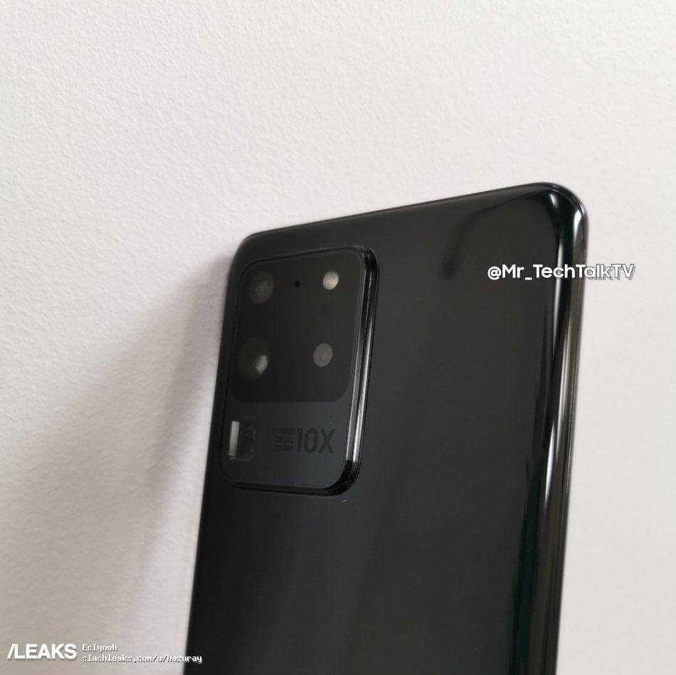Samsung Galaxy S20 Ultra varēs lepoties ar 6,9 collu Dynamic AMOLED ekrānu ar Infinity-O formātu