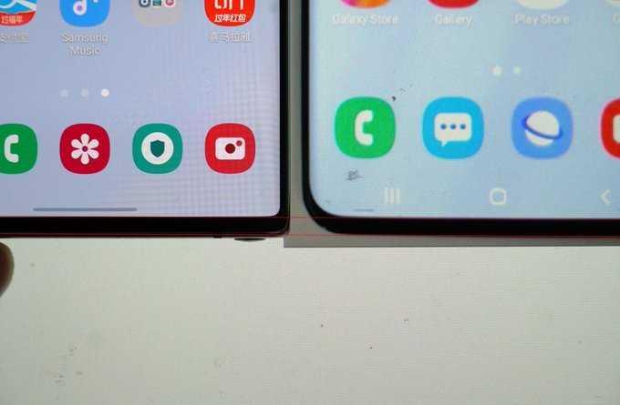 Kuram plānāks rāmis? Samsung Galaxy Note10 + un Galaxy S20 Ultra salīdzinājums