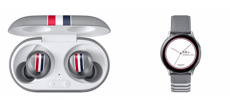 Galaxy Buds + и умных часов Galaxy Watch Active2