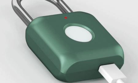 Xiaomi Padlock Kitty: piekaramā atslēga ar pirkstu nospiedumu