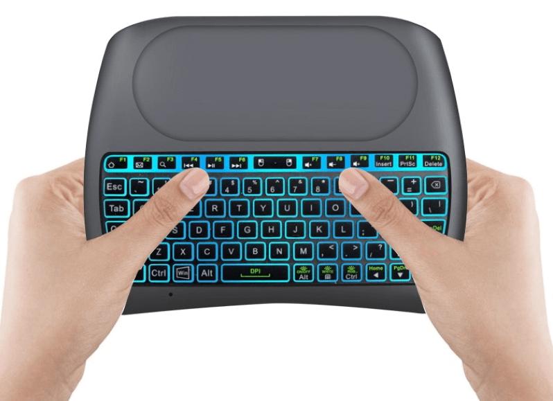 mini klaviatūra iMice D8 Plus