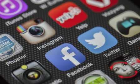 Huawei AppGallery Facebook, Twitter Instagram