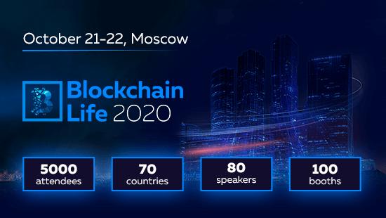 Konference Blockchain Life pārcelta uz 2020 oktobri