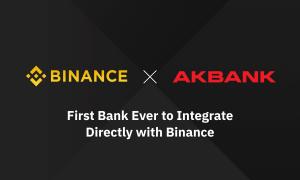 Binance paziņo par pirmo tiešo integrāciju ar Turcijas banku